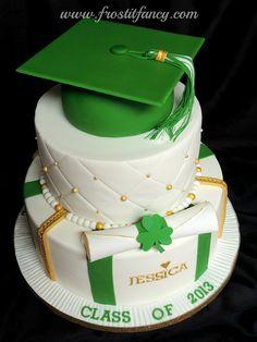 Gorgeous Graduation Cake