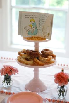 Have a literary baby shower!
