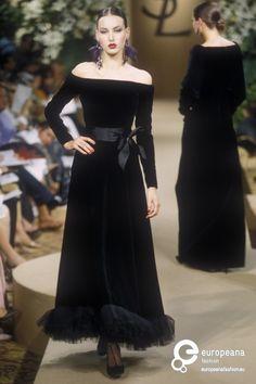 Yves Saint Laurent, Autumn-Winter 2000, Couture on www.europeanafashion.eu
