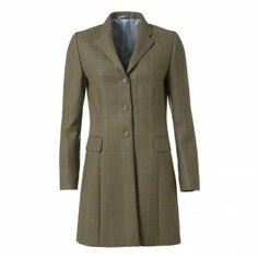 Magee Women's Check Portnoo Jacket The Portnoo is one of our best selling jackets - the name is taken from a beautiful beach in Donegal. The fabric is a wool, Tweed Jacket, Suit Jacket, Donegal, Blue Check, Beautiful Beaches, New Fashion, Centre, Jackets For Women, Women Wear
