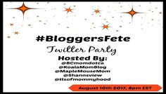 Come Out and Celebrate – It's #BloggersFete2017! RSVP For Our Twitter Party!
