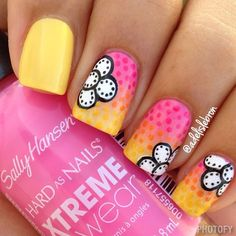 Nail Art is not something that requires years of training, but to those that are getting their nails done it can sure seem that way. Latest Nail Designs, Pretty Nail Designs, Gel Nail Designs, Cute Nail Art, Cute Nails, Pretty Nails, Hair And Nails, My Nails, Manicure