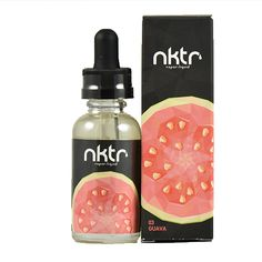 NKTR Vapor eLiquids Guava - Take a bite into this fresh, ripened pear that starts with a clean, delicate inhale and finishes with a juicy, mouthwatering VGShips from Liquid Guys Distribution - California Vape Facts, Vape Coils, Vape Smoke, Vanilla Custard, Vape Juice, All Brands, Bubble Gum, Bottle, Pear