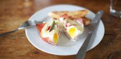 Ham and Egg Baskets  A breakfast food I might actually eat!