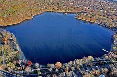 Jamaica Pond, Jamaica Plain, Boston