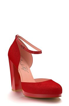 Shoes+of+Prey+Calf+Hair+d'Orsay+Pump+(Women)+available+at+#Nordstrom