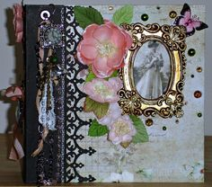 Victorian Keepsake Handmade Photo/Memory Album OOAK by tristanrobin on Etsy