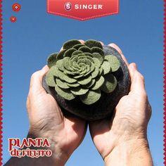 Flor de fieltro #yolohice #Singer – Singer México