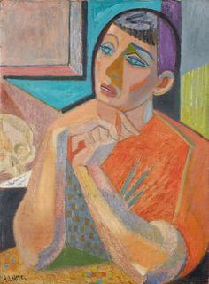 André Lhote – 'Pénélope', 1939; Huile sur toile, 73x54 cm