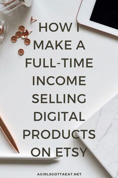 FREE TRANING How I replaced my full-time income with digital products on Etsy Make More Money, Make Money From Home, Make And Sell, Earn Money, Craft Business, Business Tips, Business Entrepreneur, Online Business, Digital Marketing Strategy
