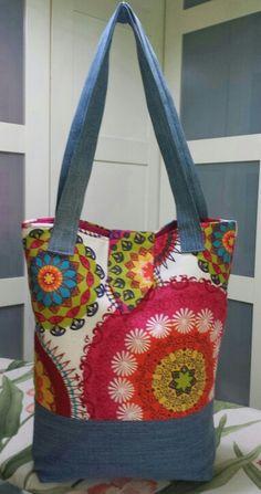 Bolsas playa tela moldes para hacer un bolso de playa 1 - Bolsas de tela manualidades ...