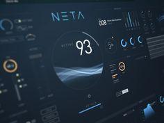 NETA music hud interface by Alexander Zhukov