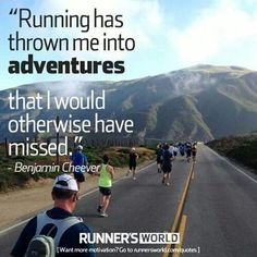 Running Matters #57: Running has thrown me into adventures that I would otherwise have missed.