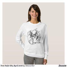 Free Style G84 Women's Basic Long Sleeve T-Shirt   #design #fashion #freestyle #women #longsleeve #tshirt