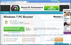 Remove PCBooster.com ads - Virus Removal Instruction