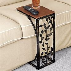 25 Modern Sofa Side Table Ideas You Can Use in Your Room is part of Unique furniture Awesome Decor - You shouldn't overlook the bedroom door! Tallulah, you could also leave the room You'll need to eliminate the back seats […] Decor, Furniture, Wrought Iron Furniture, Ottoman Table, Sofa Side Table, Steel Furniture, Home Decor, Iron Decor, Metal Furniture