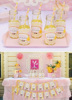 Belle Inspired Princess Tea Party Birthday {Be Our Guest!}