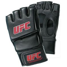 x2 UFC Black MMA Training Glove. One of the first pieces of equipment I bought, I used to spar full contact with other MMA wannabes like it was a smart idea. It wasn't folks.These gloves aren't the best pair for any kind of full-contact sparring. At best, you can use them for grappling practice, or light body sparring. In terms of quality, I've had two pairs for almost four years, and neither is falling apart. So that's a plus.