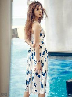 Claudia Kim (Kim Soo Hyun) Poses for GQ Magazine | Koogle TV