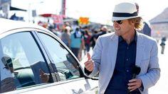 Celebrities at the Daytona 500  Sunday, February 26, 2017  Actor Owen Wilson, Daytona 500 grand marshal.