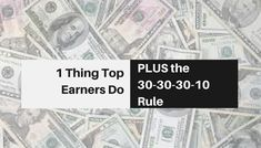 Do you know the one thing top earners do, that other people don't?  It's something that really sets them apart...  Master the art of the personal brand.  Here's what you NEED to know.
