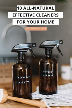 Why take the chance of using harsh chemicals and putting those toxins in the air to breathe, when there are all-natural cleaners and chemical-free cleaning options out there? Cleaning Tile Floors, Clean Tile Grout, House Cleaning Tips, Cleaning Hacks, All Natural Cleaners, Cleaners Homemade, Diy Cleaners, Homemade Cleaning Supplies, Diy Home Furniture