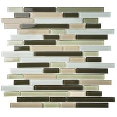 "Found it at Wayfair - Ambit 11.75"" x 11.75"" Glass Mosaic Tile in Chapparal"