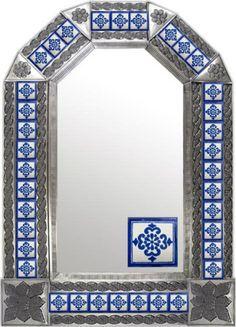 Rustica House tin mirror. #myrustica #rusticahouse