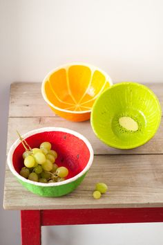 Paper Mache bowl WOW TO- Kids Magazine by Dana Israeli - craft projects, decorating ideas, party tips and inspiration