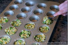 Munchkin Meals: Broccoli Cheddar Quinoa Bites