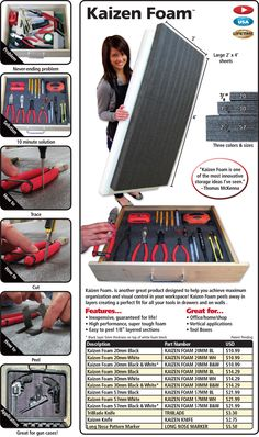 Kaizen Foam - FastCap - Woodworking Tools