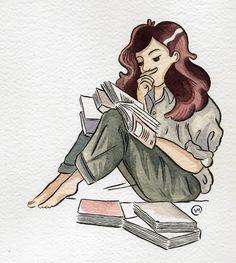 "veronicamalatesta: ""Let me read """