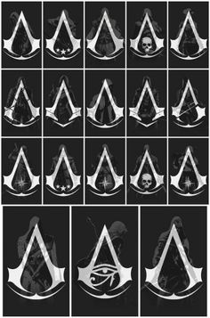 Games Tattoo Ideas Assassins Creed Ideas For 2019 Discover arcade classics to new Assassins Creed Tattoo, Assassins Creed Quotes, Assassins Creed Black Flag, Assasing Creed, All Assassin's Creed, Assassin's Creed Wallpaper, Video Game Tattoos, Susanoo, Gaming Tattoo