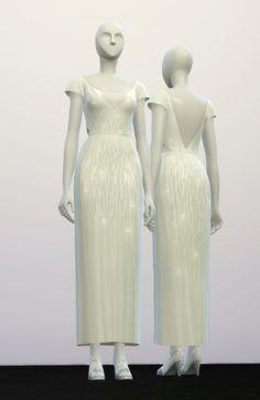 Rusty Nail: Lily wedding dress • Sims 4 Downloads
