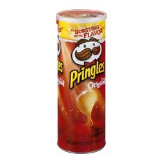 I never really knew what all the hype was about with Pringles. To me they never quite tasted like potato chips but rather some other kind of overly salty and cr. Pringles Original, Potato Crisps, Fanta Can, Snack Recipes, Snacks, Chips, Potatoes, Favorite Recipes, Treats