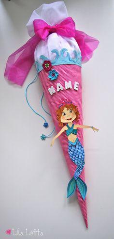 Schultüte Meerjungfrau
