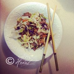 Egg Roll in a Bowl (can be E and FP, too)
