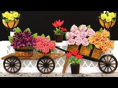(3) Flower Booth Card - with Christina Griffiths - YouTube