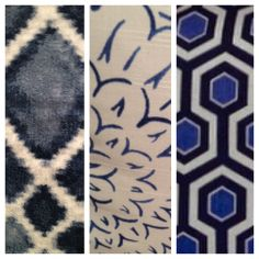 Indigo and Navy Blue at High Point Market Spring 2014