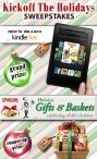 Win a Kindle Fire from Holiday Gifts & Gift Baskets!