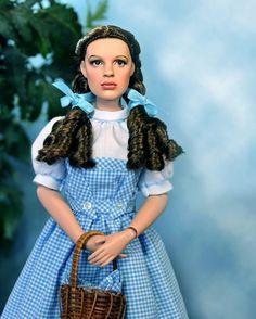 Judy Garland as Dorothy, Noel Cruz doll repaint