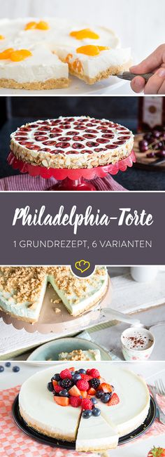 Philadelphia-torte