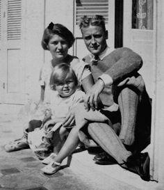 Família Fitzgerald: Zelda, Francis e Frances, carinhosamente apelidada de Scottie
