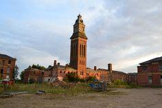 St Crispin's Asylum water tower – Northampton – August 2015