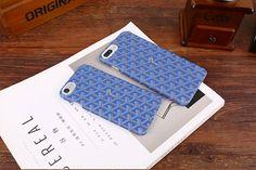 goyard iphone 7 plus case classic blue