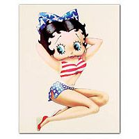 Betty Boop Pin-up Mini Poster