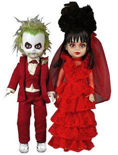 Wide Selection; beetlejuice Living Dead Dolls Lydia Deetz