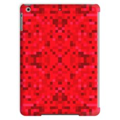 Red Pixel Tablet Case