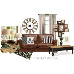 Beautiful Neutrals by my36thavenue on Polyvore featuring interior, interiors, interior design, home, home decor, interior decorating, Linea, Pottery Barn, The Rug Market and Pier 1 Imports