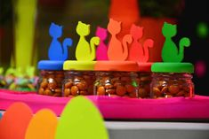 Neon Cat Tween Birthday Party via Kara's Party Ideas | The Place for All Things Party! KarasPartyIdeas.com (11)